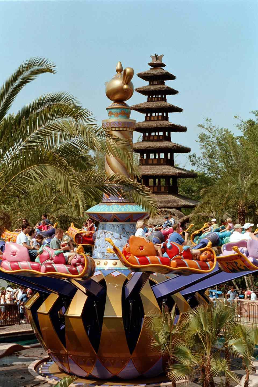Magic Carpet ride at Disney's Magic Kingdom.