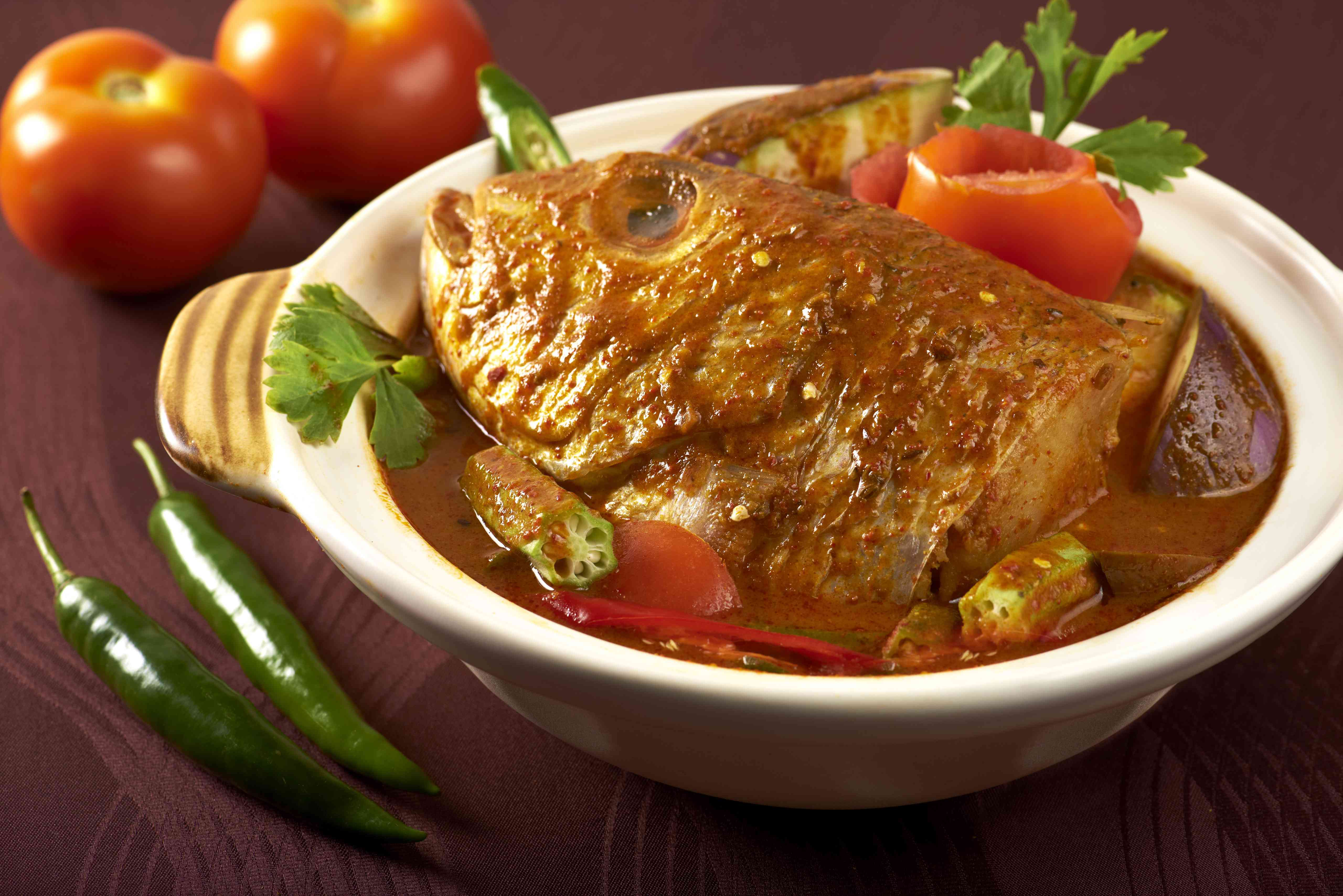 Samy's fish head curry