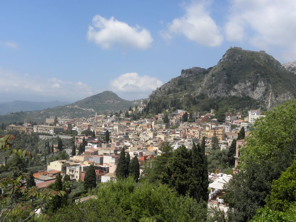 Taormina on the Island of Sicily