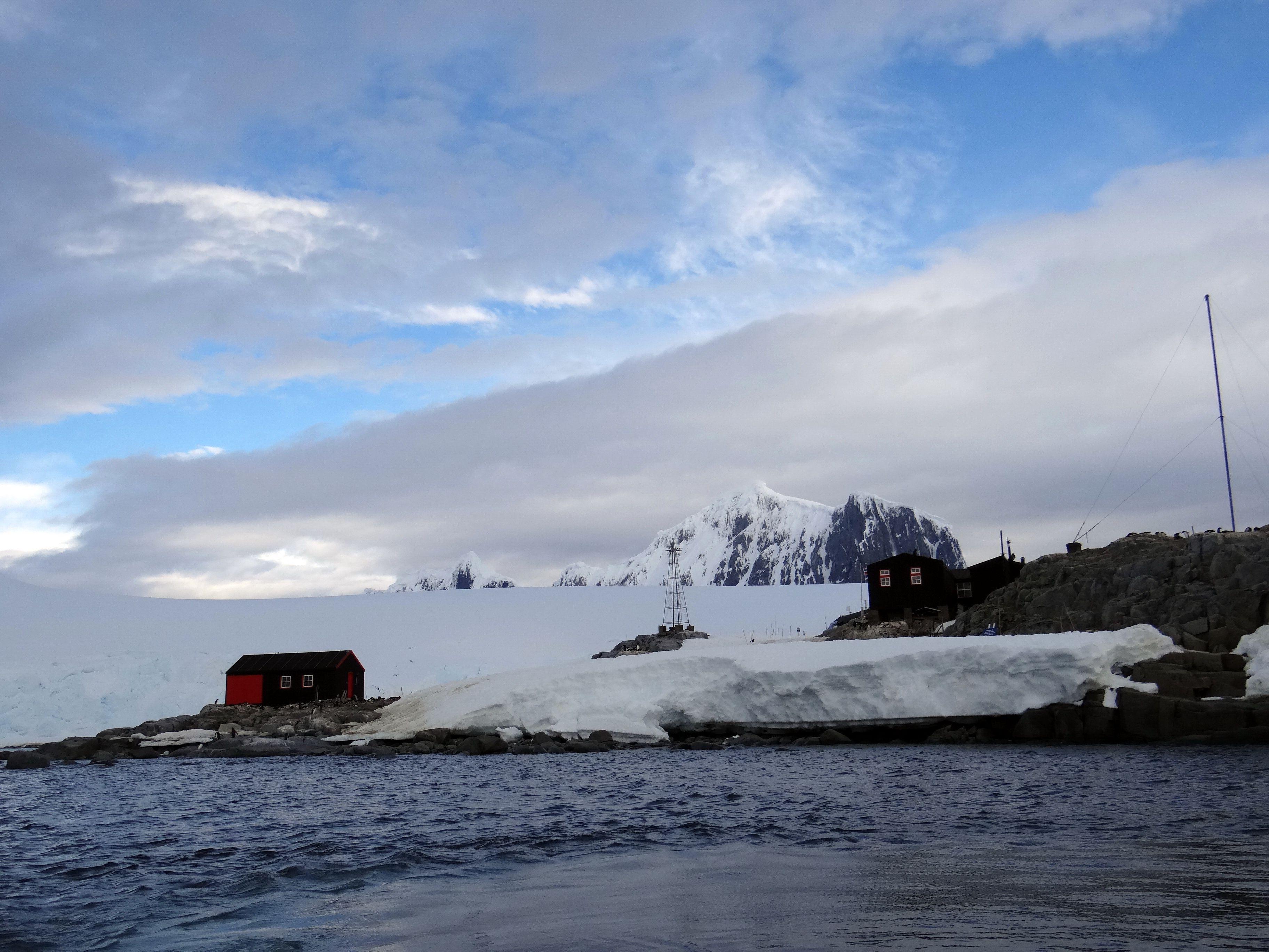 Port Lockroy on Antarctica
