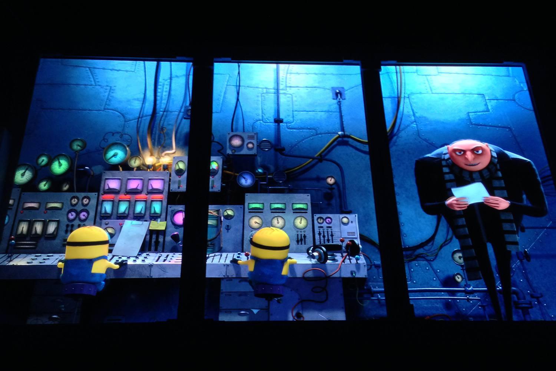A Peek Inside Despicable Me Minion Mayhem Ride at Universal Studios Hollywood