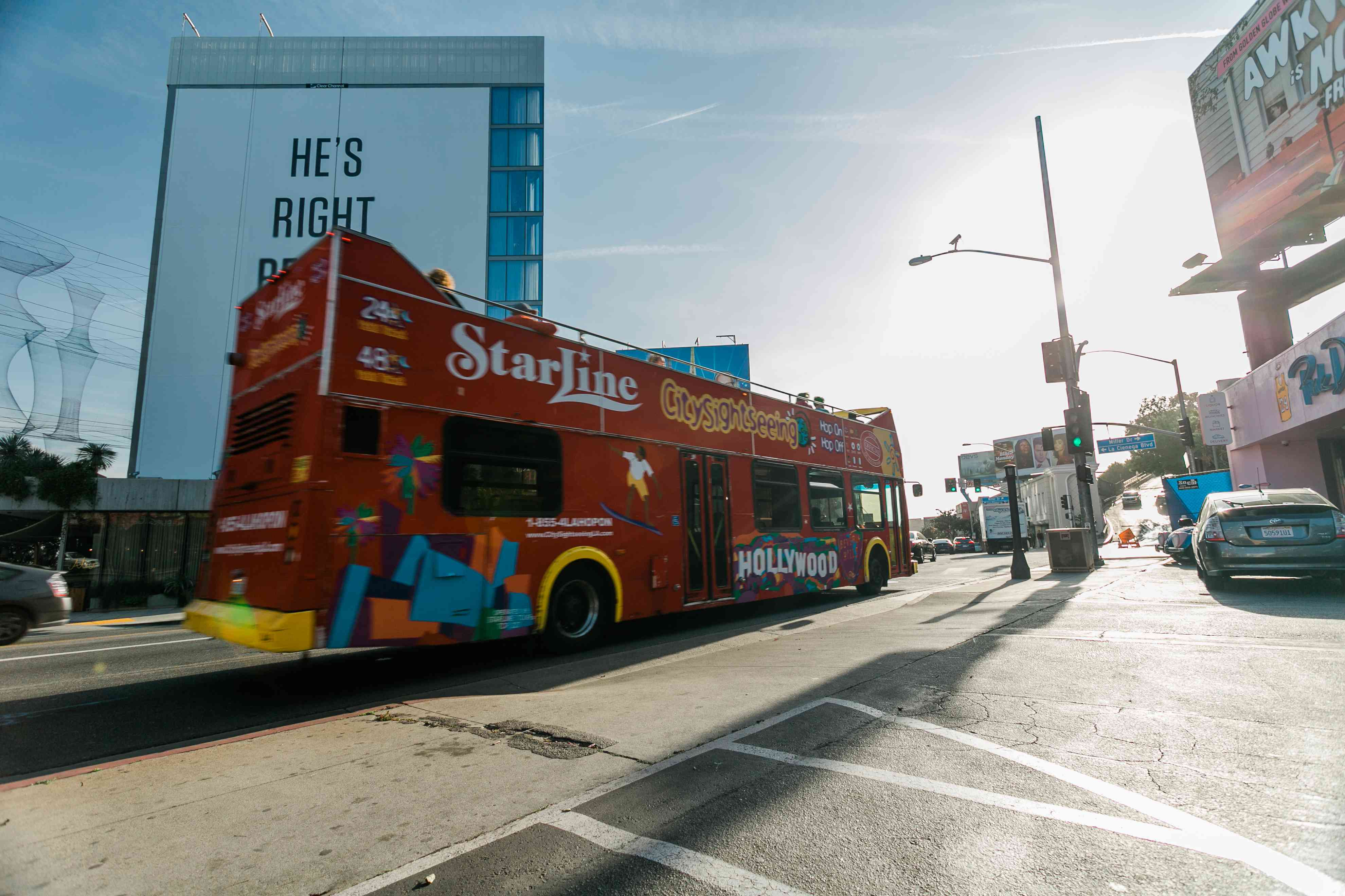 Starline's Hop-On Hop-Off Tour in LA
