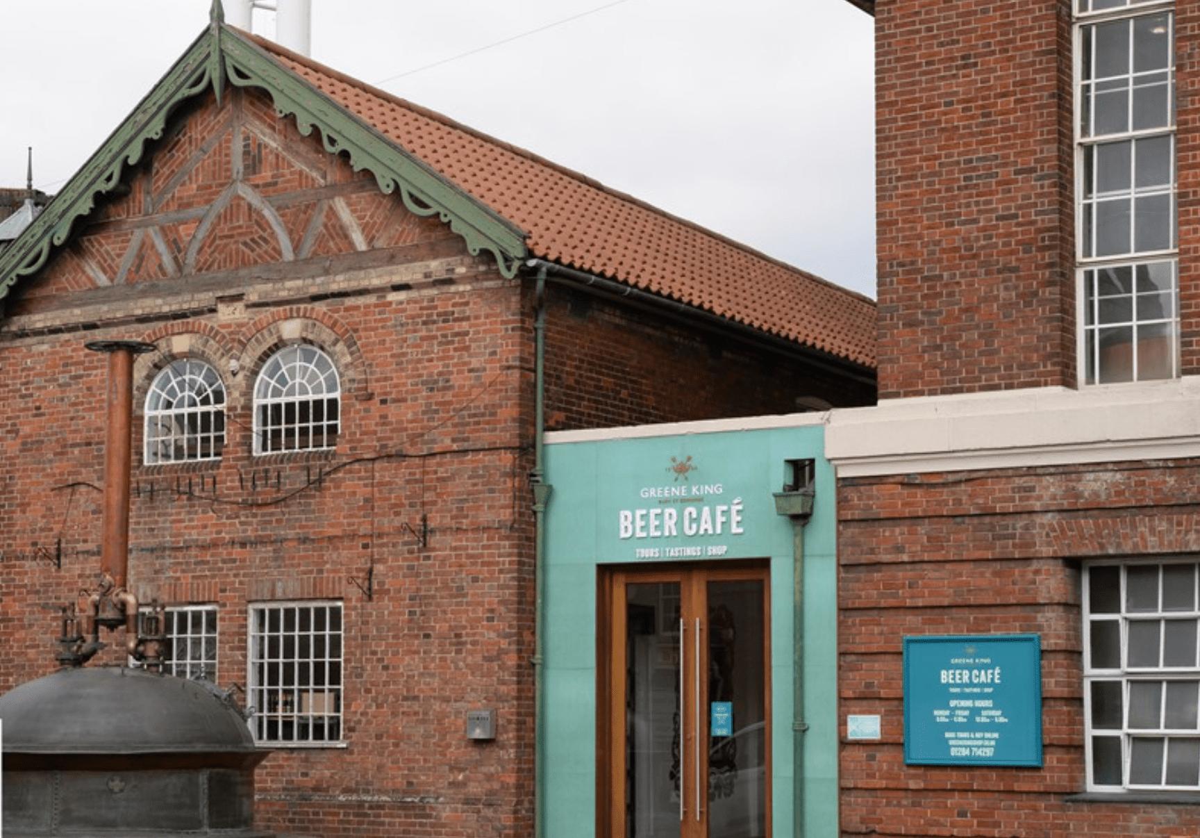 Greene King Brewery in Bury St Edmunds