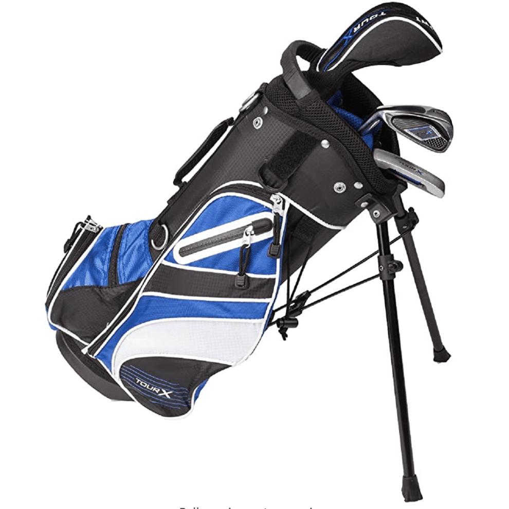 Tour X 3pc Jr Golf Set w/Stand Bag