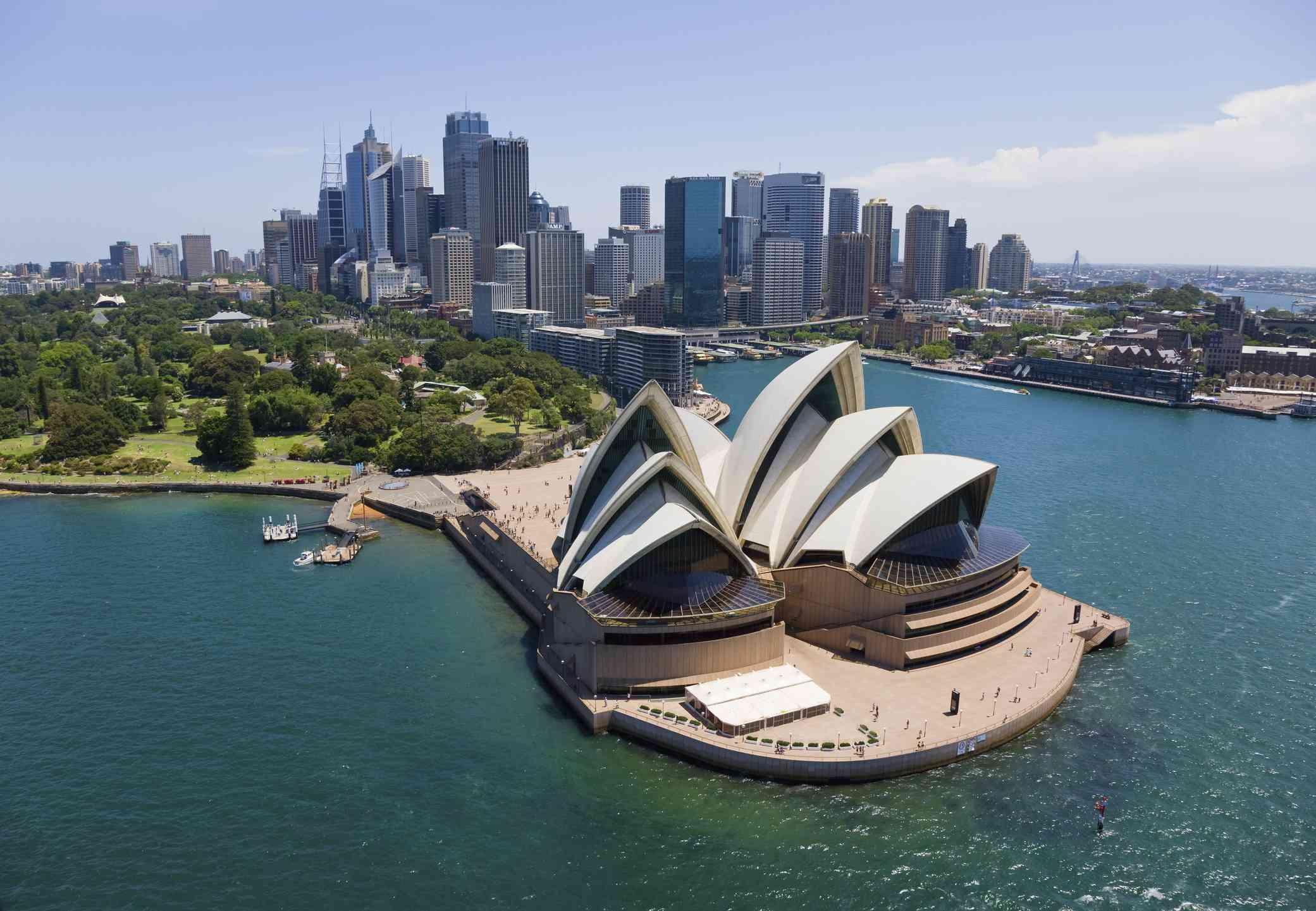 Sydney aerial