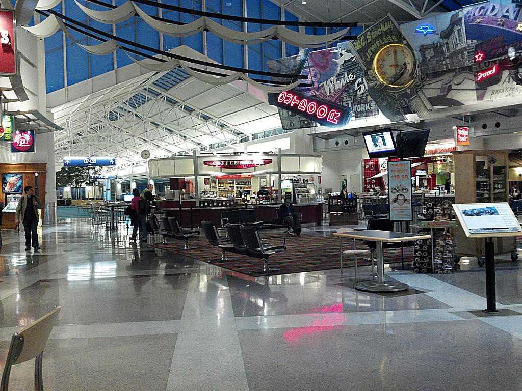 A terminal at Portland International Airport.