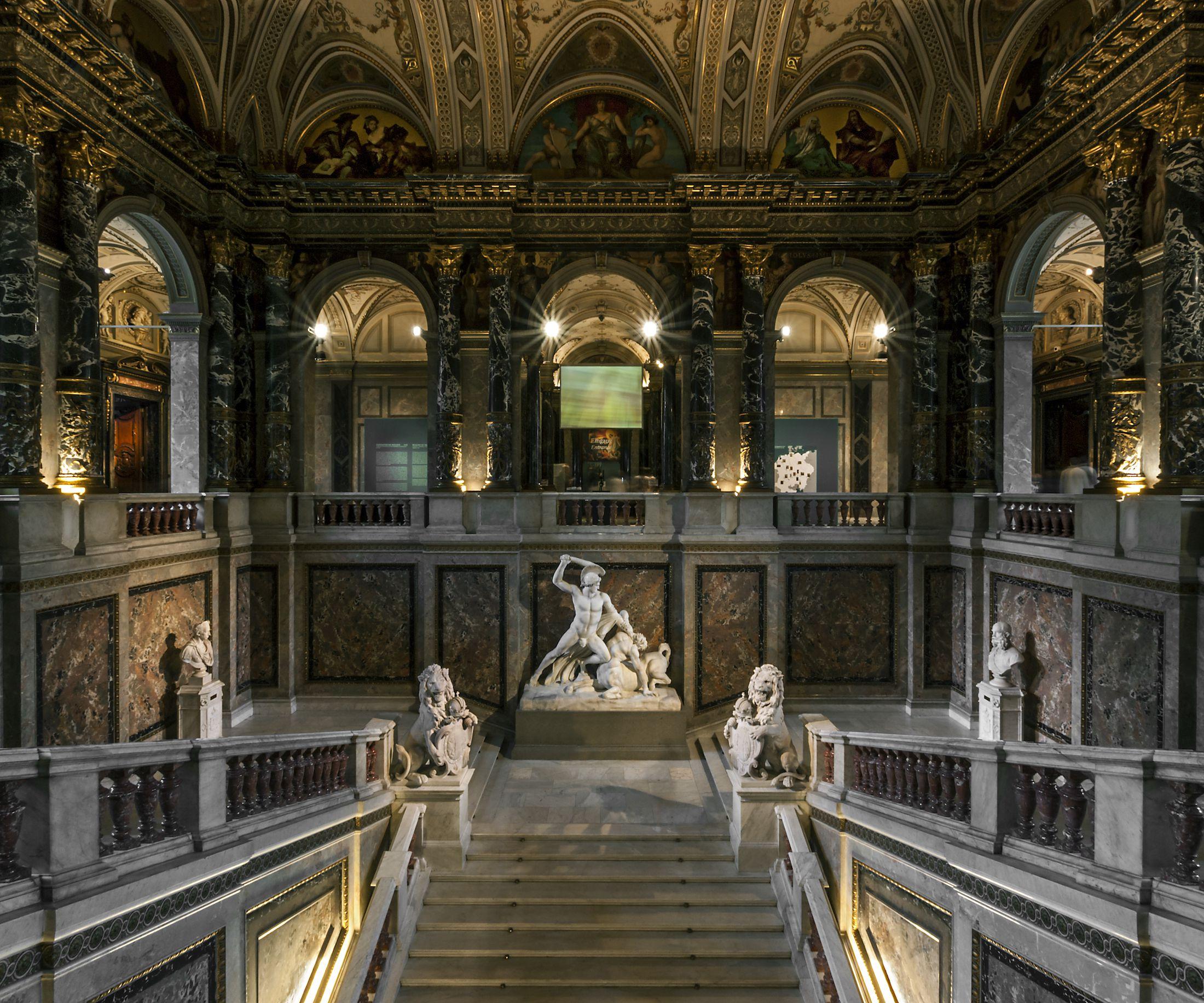 El Museo Kunsthistoriches en Viena, Austria