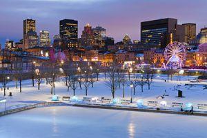 Montreal iceskating rink