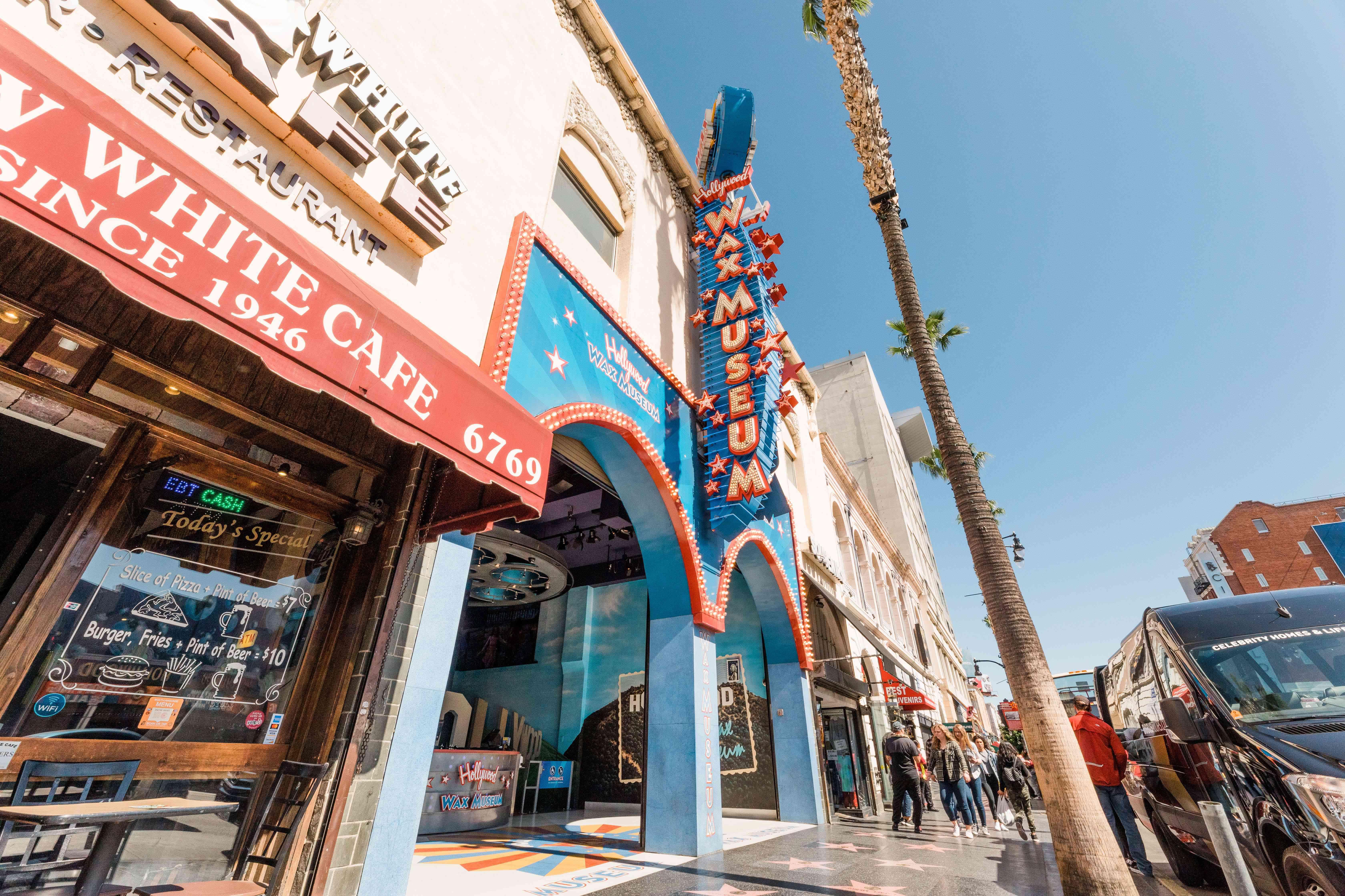 Hollywood Wax Museum in LA