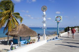 Paradise Dive Center on Cozumel Island