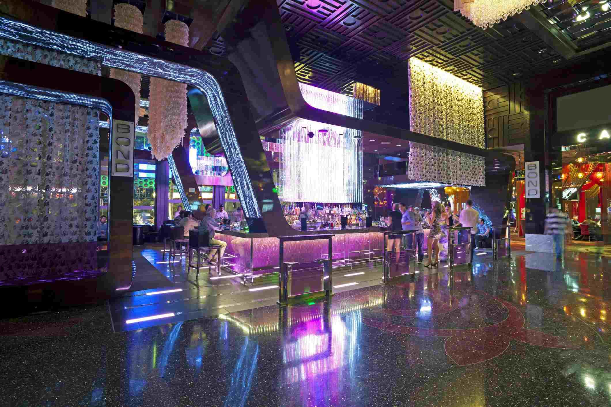 Las Vegas, Bar interior a lo largo del Strip