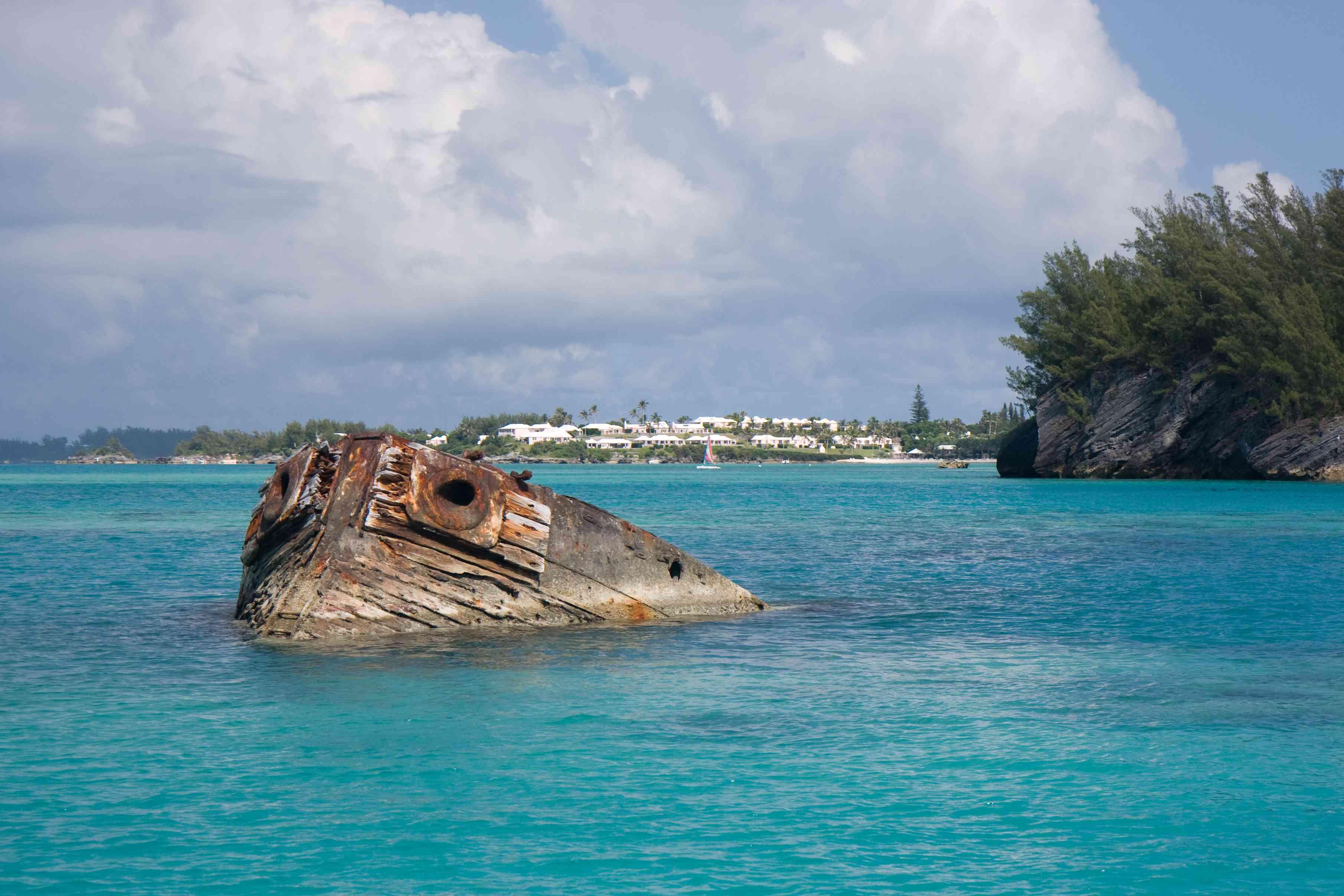 The Vixen wreck, Bermuda