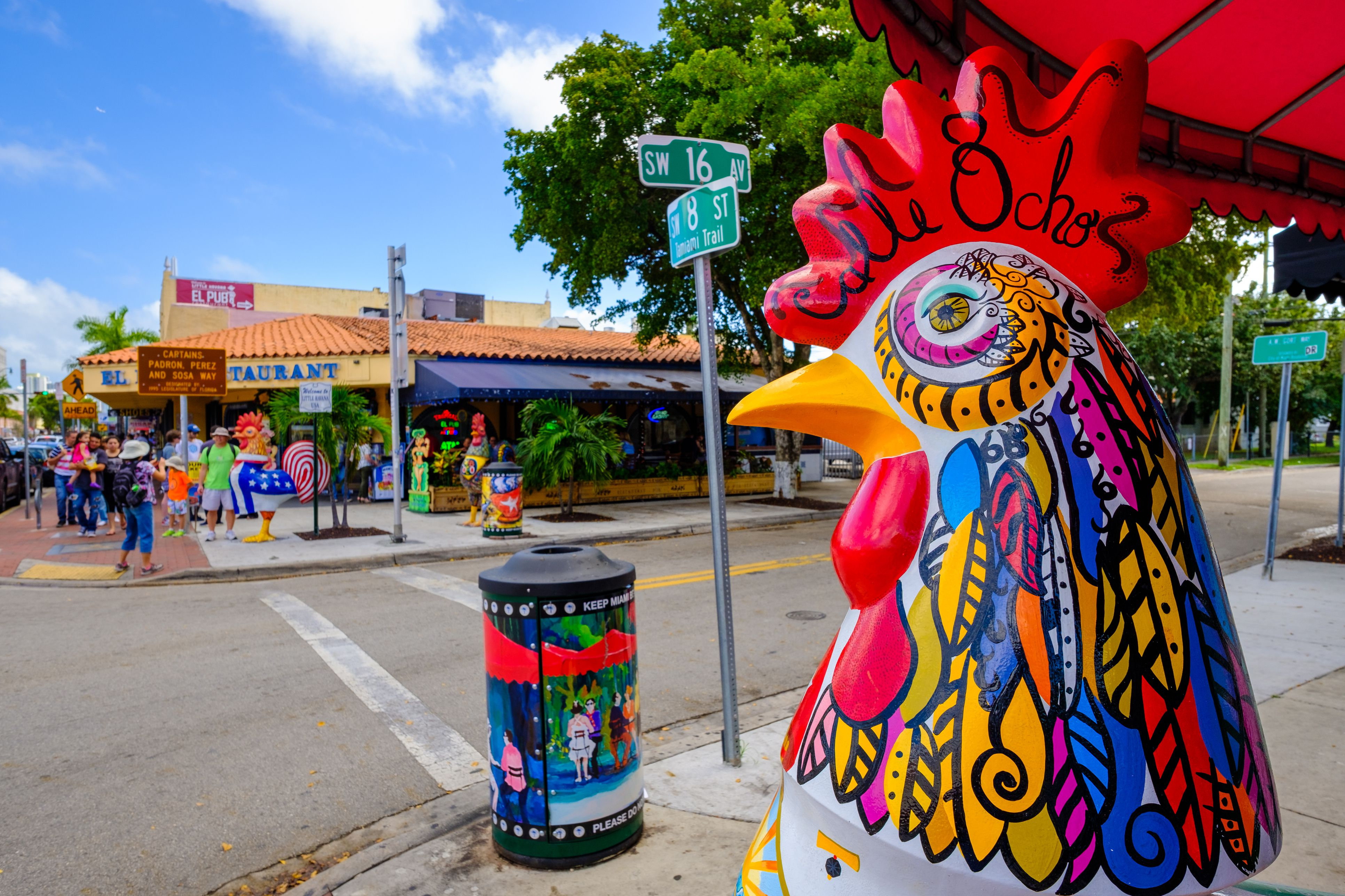 Exploring Calle Ocho In Little Havana Miami