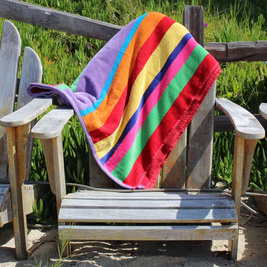 Cotton Craft Luxury Beach Towel for Two