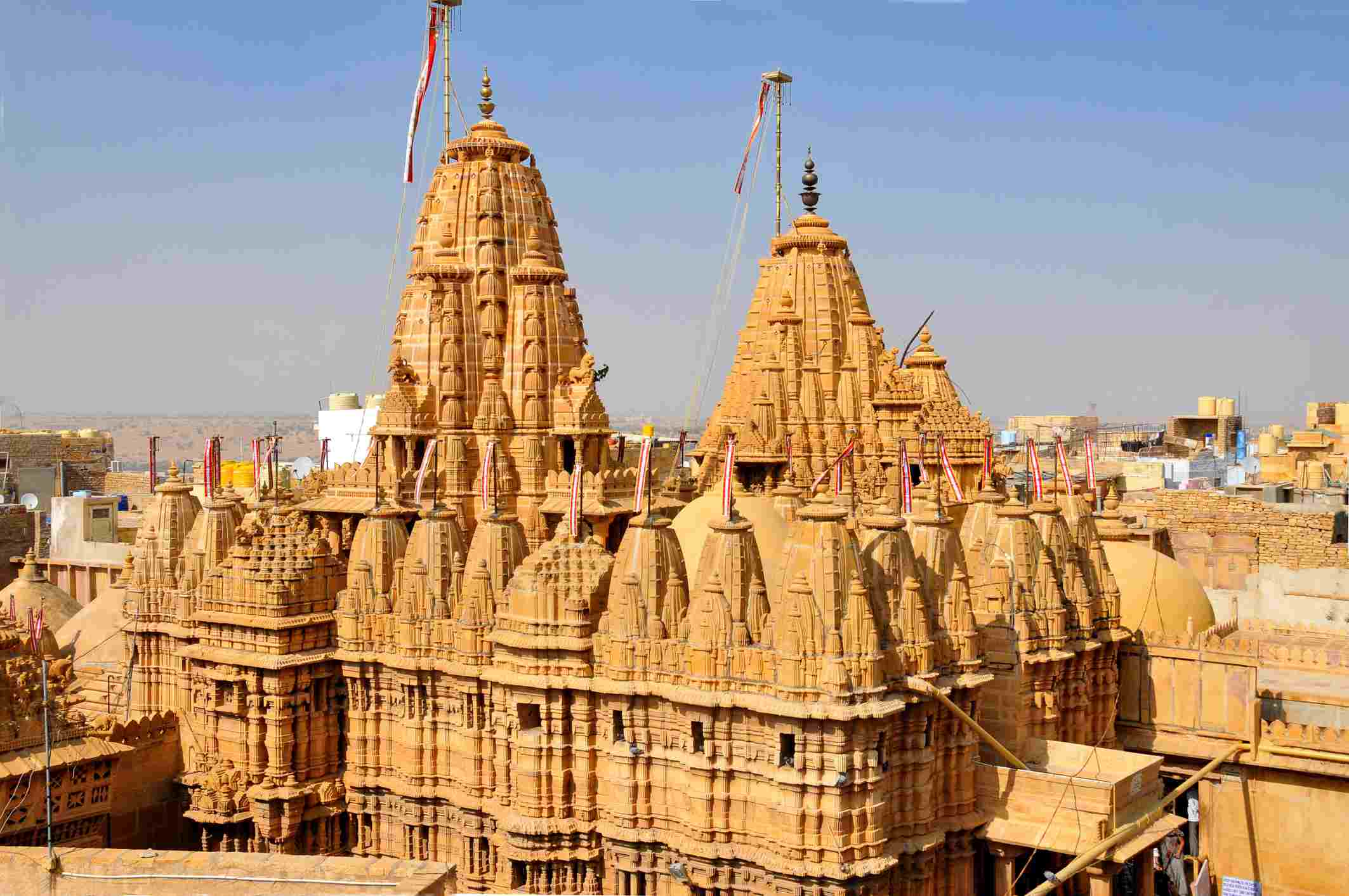 Jain temples at Jaisalmer