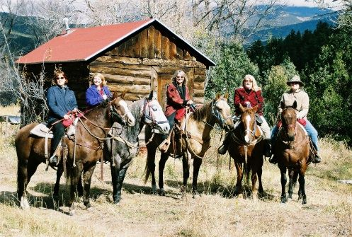 Cimarroncita cowgirl camp in New Mexico