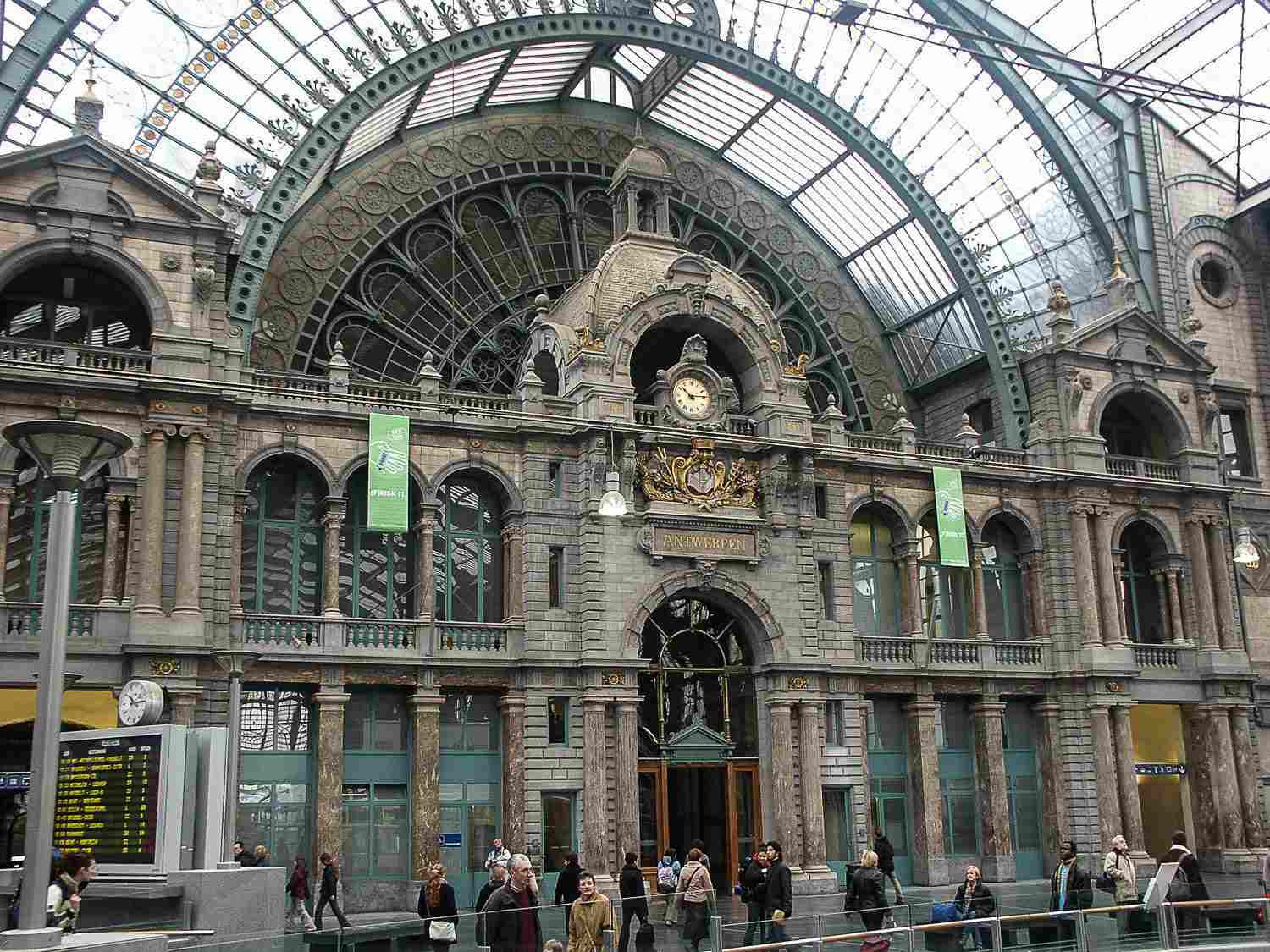 antwerp central station picture