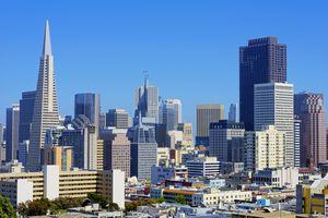 San Francisco Skyline on a Clear Day