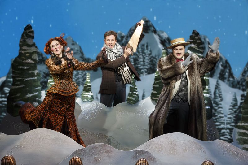 """National Touring Company of """"A Gentleman's Guide to Love & Murder"""" at the Ahmanson Theatre"""