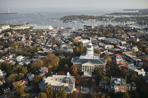 State House and Capital in Annapolis