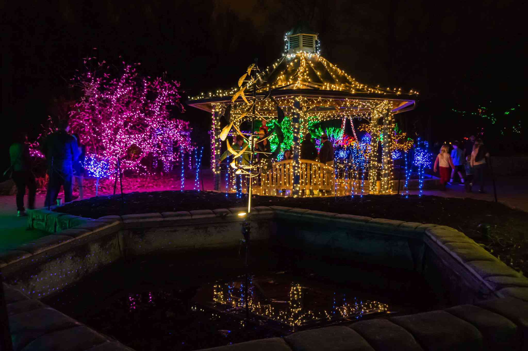 Brookside Gardens of Lights 2017 Christmas Display