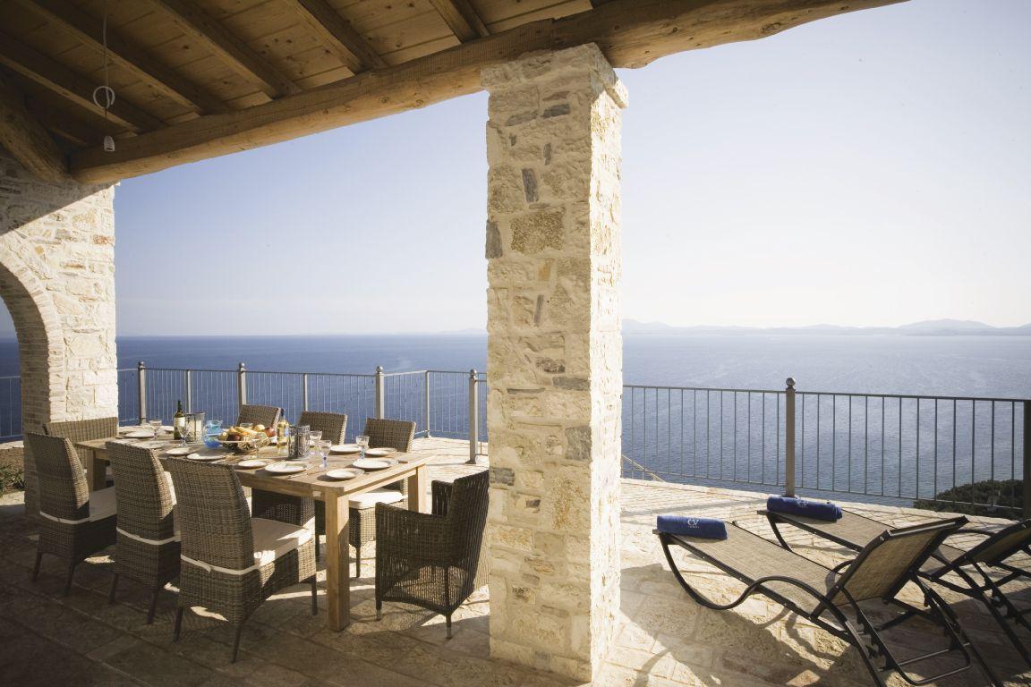 Luxury rental villa in Greece