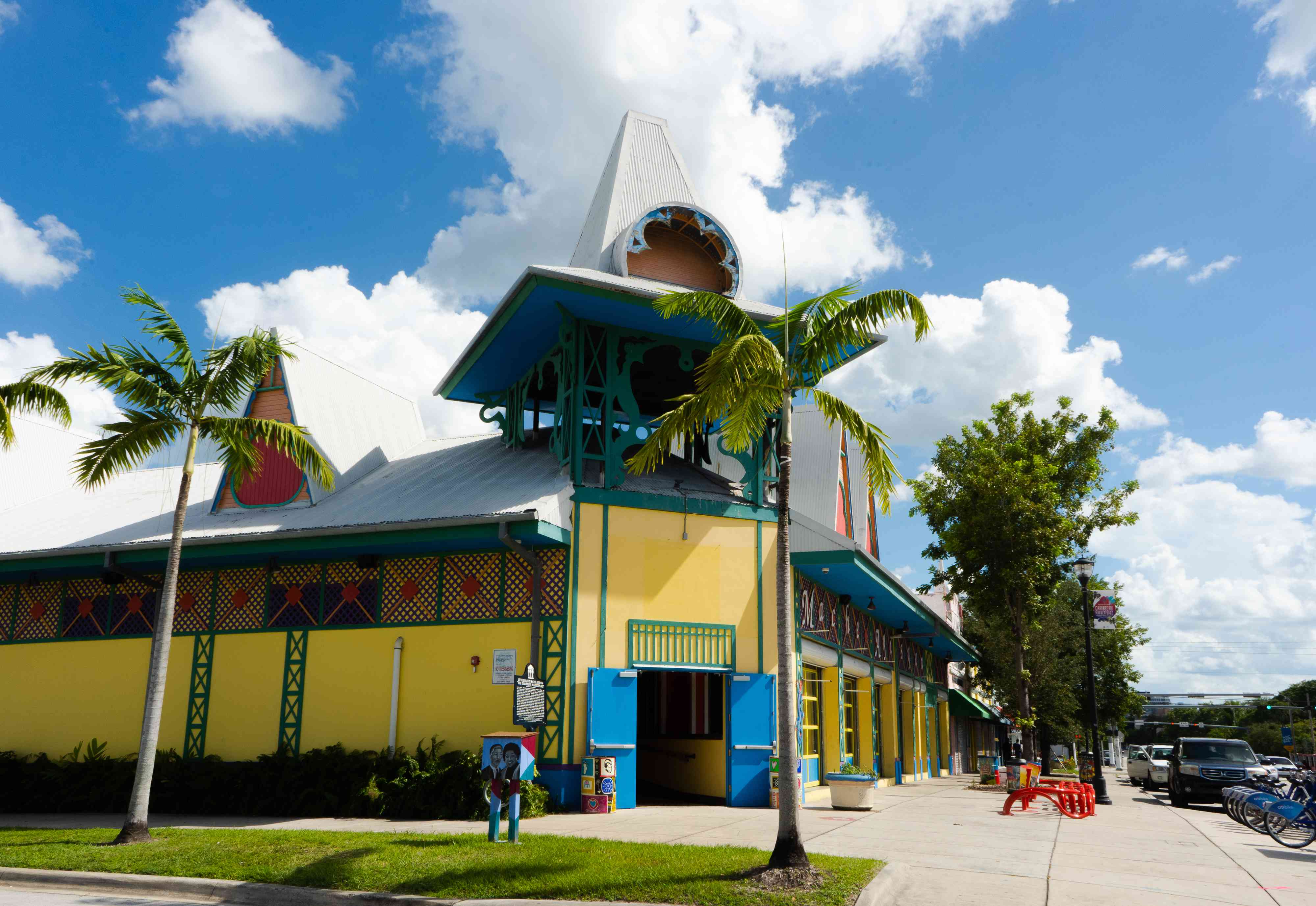 Colorful building in Little Haiti