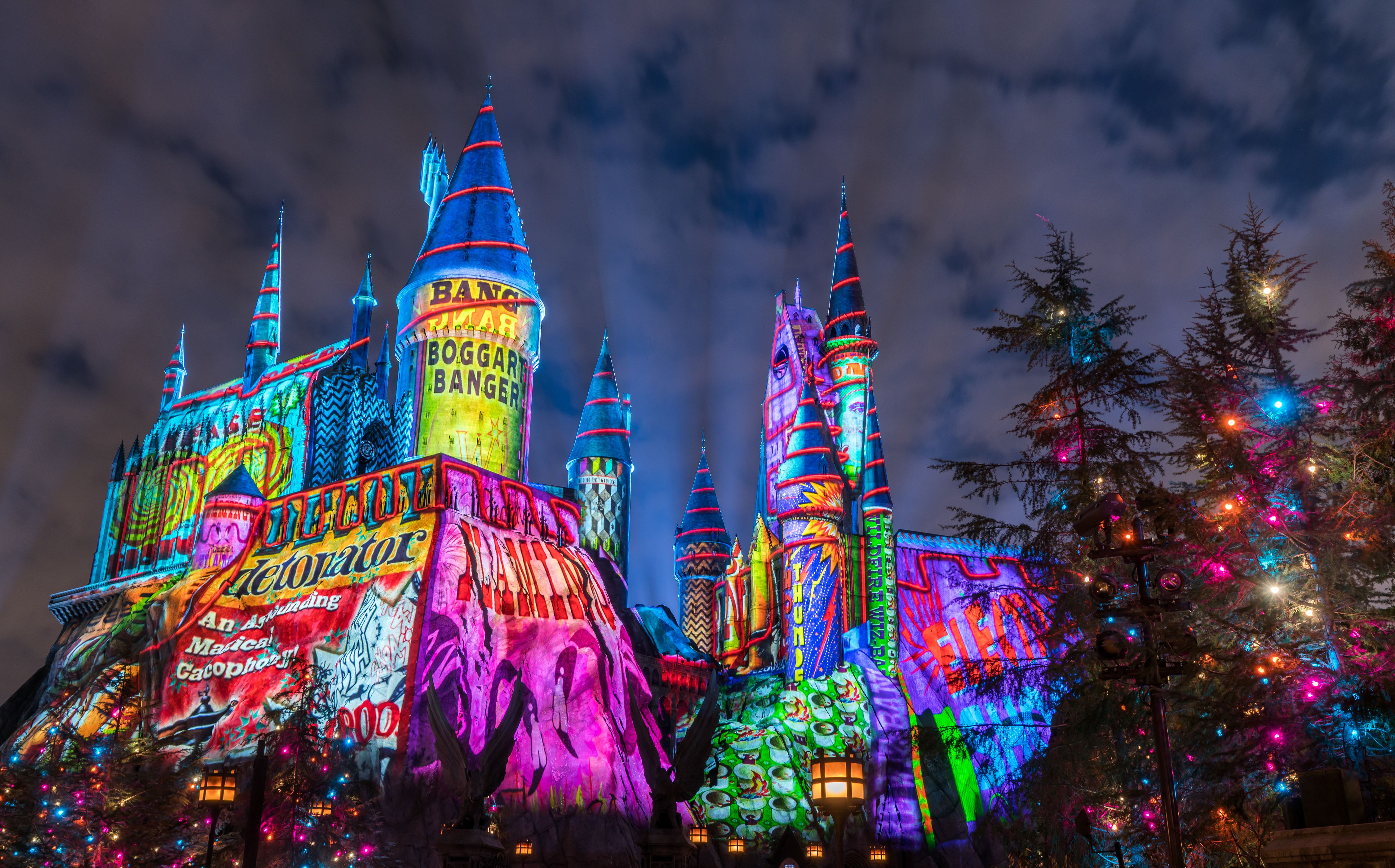 Christmas at Florida Theme Parks 2018 Holiday Celebrations