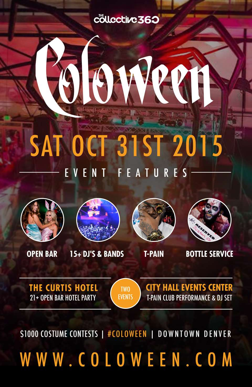 Coloween Halloween Party