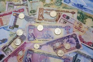 Dubai currency dirham and fils