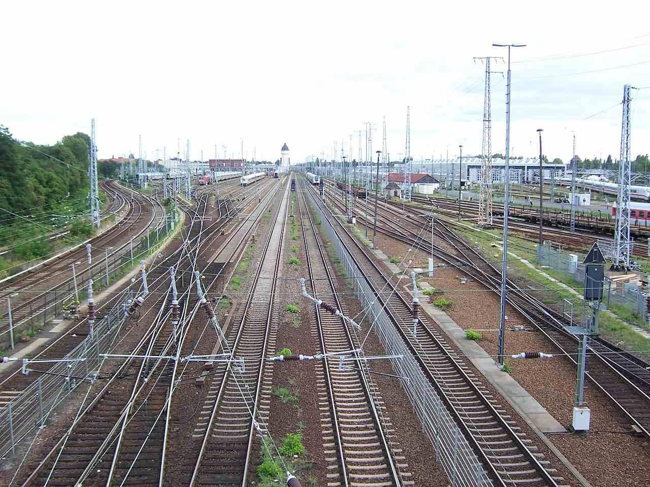 Berlin-Rummelsburg Betriebsbahnhof in Lichtenberg