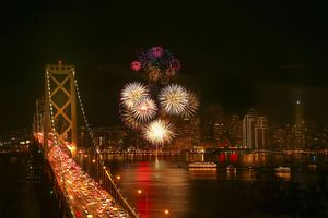 New Year's Eve Firework at San Francisco