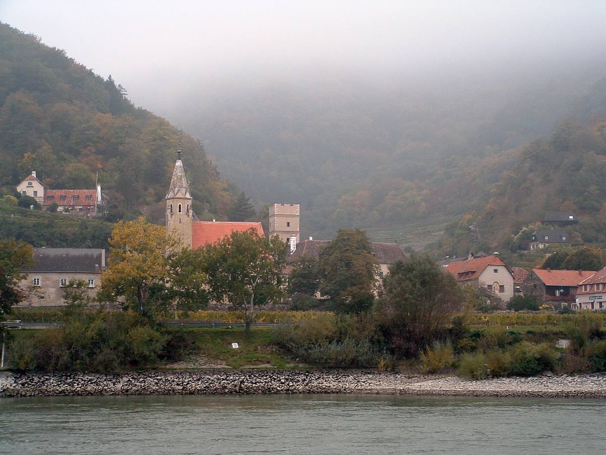 Spitz in the Wachau Valley of the Danube River