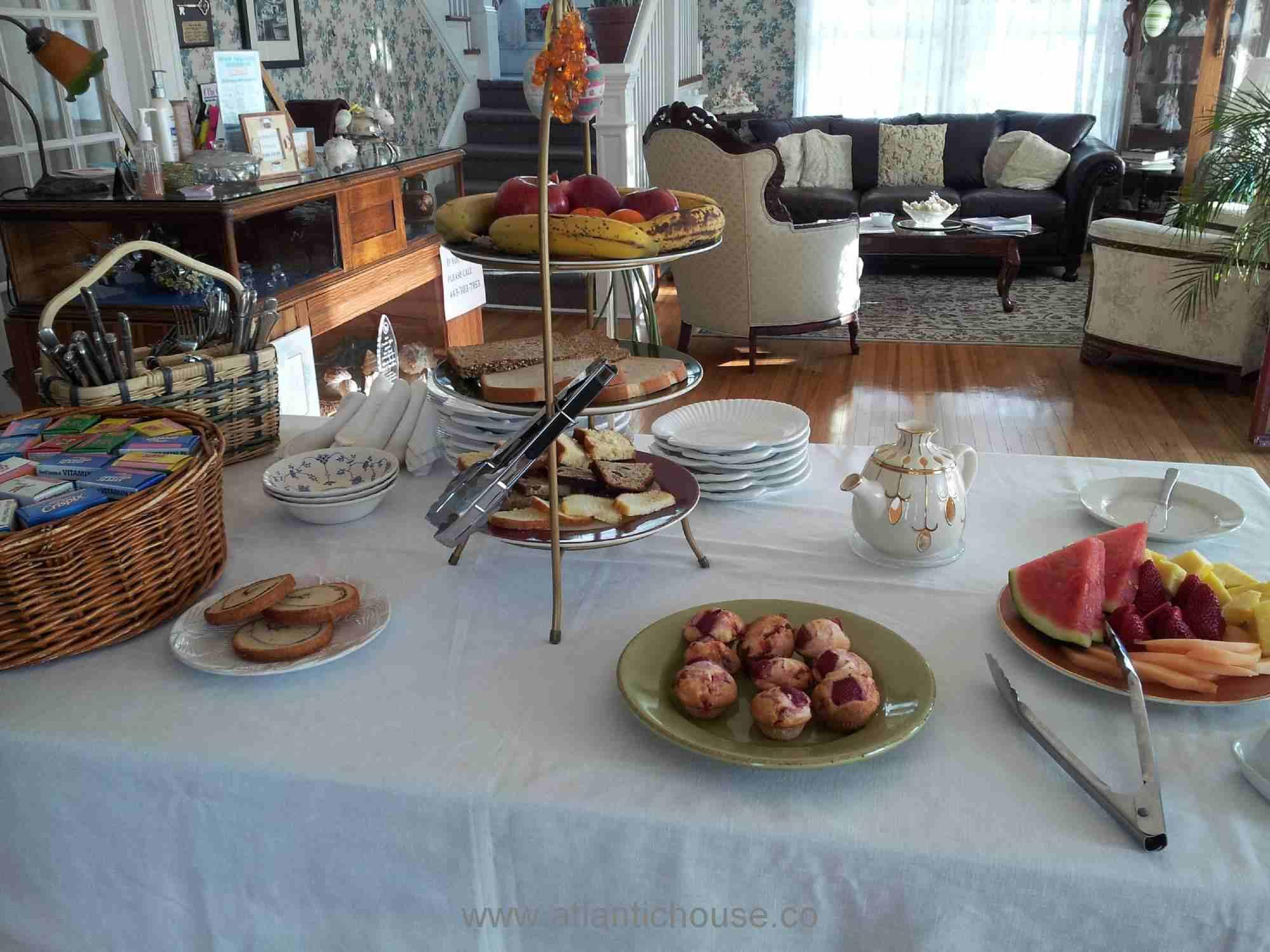 Full Buffet breakfast served every morning