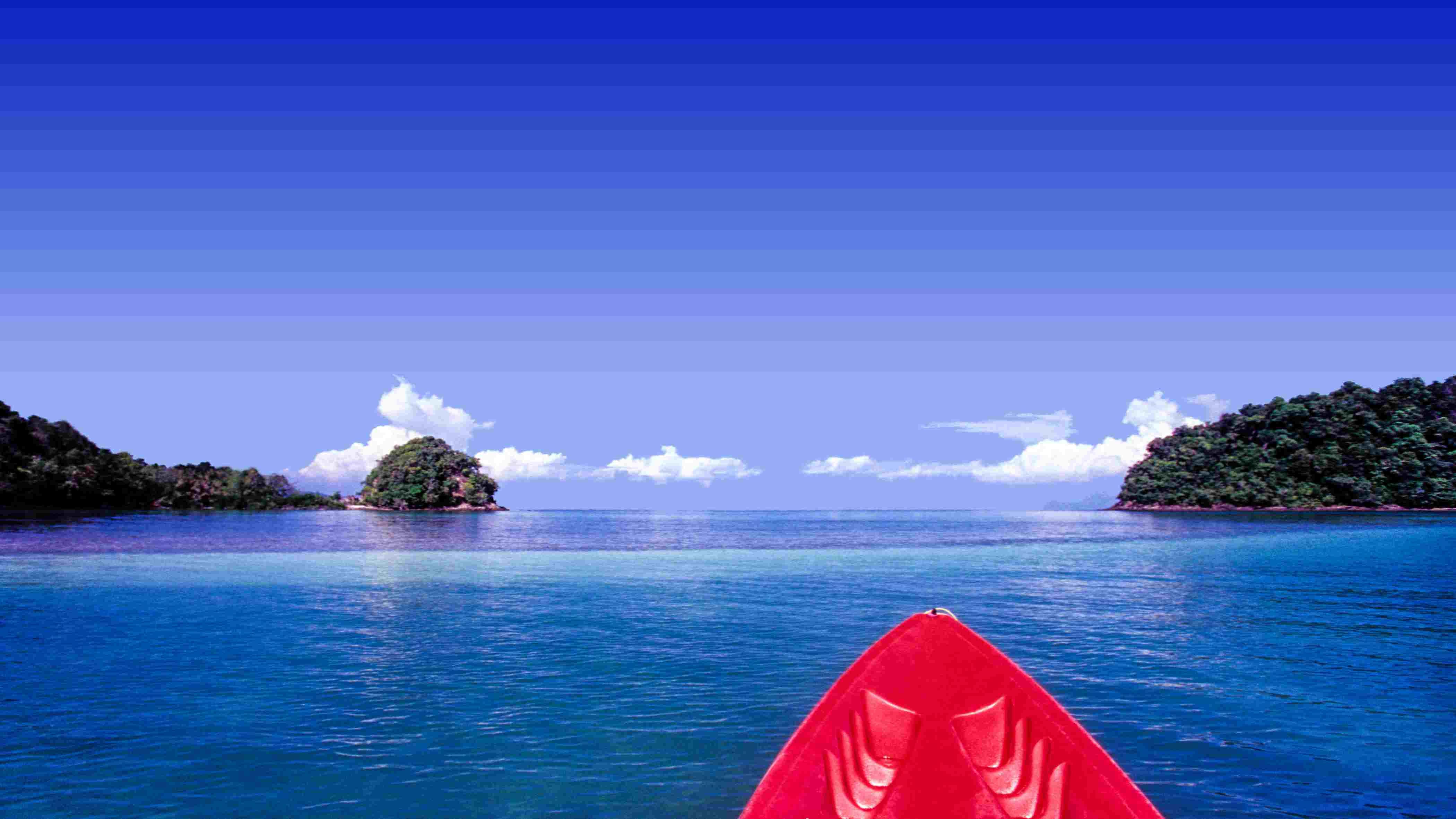 Sea kayaking Langkawi Malaysia
