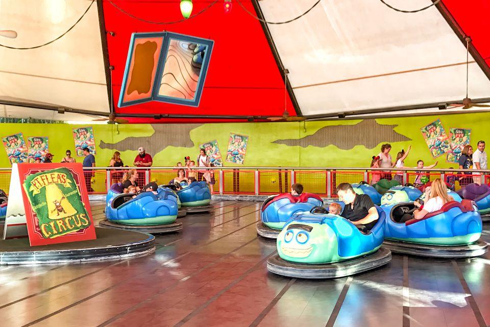 Tuck 'n' Roll's Drive 'Em Buggies at Disney California Adventure