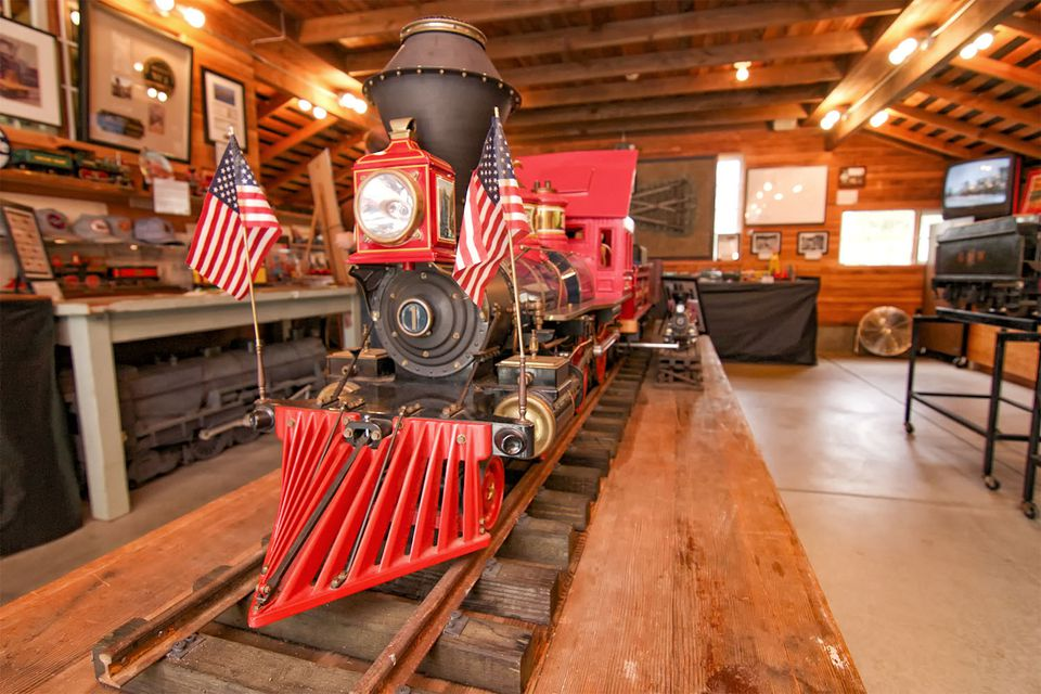 Walt Disney's Carolwood Pacific Railroad at Los Angeles Live Steamers