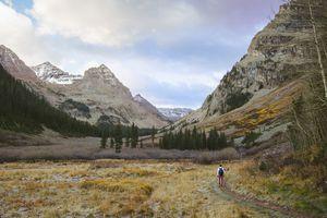 Hiker in Colorado