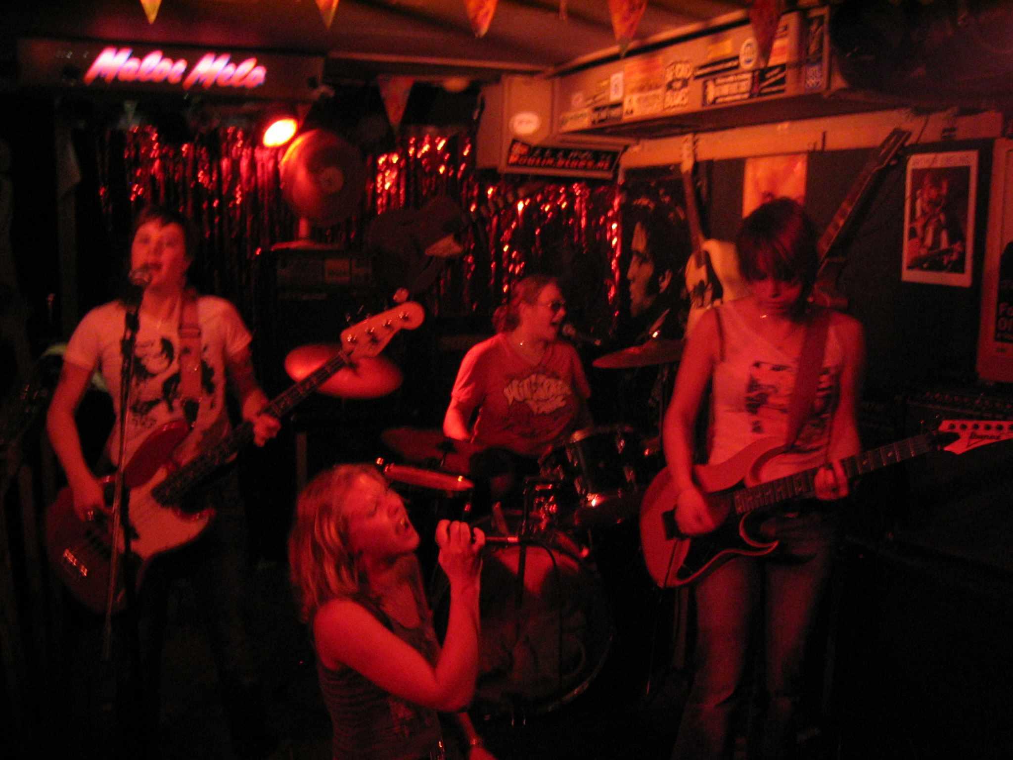 A band performs at Maloe Melo