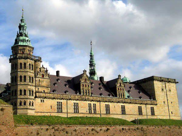 Kronborg Castle near Helsingør, Denmark