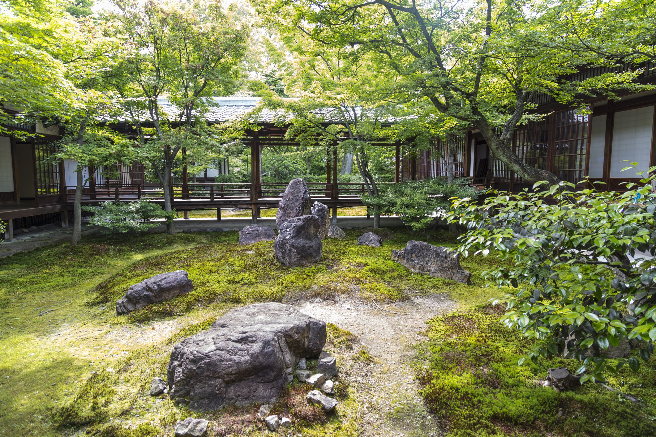 add_a_photo Embed Share Buy the print Comp Save to Board stone garden in Kennin-ji temple