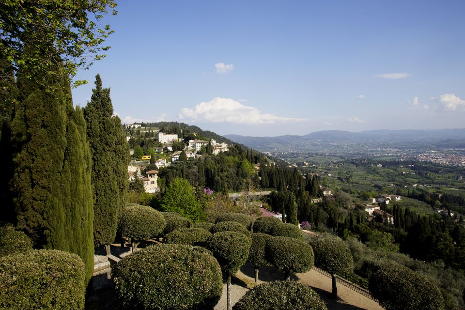 Village of Fiesole in Tuscany