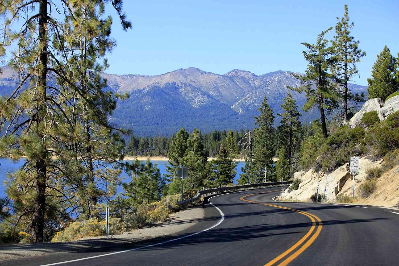 The Road Around Lake Tahoe