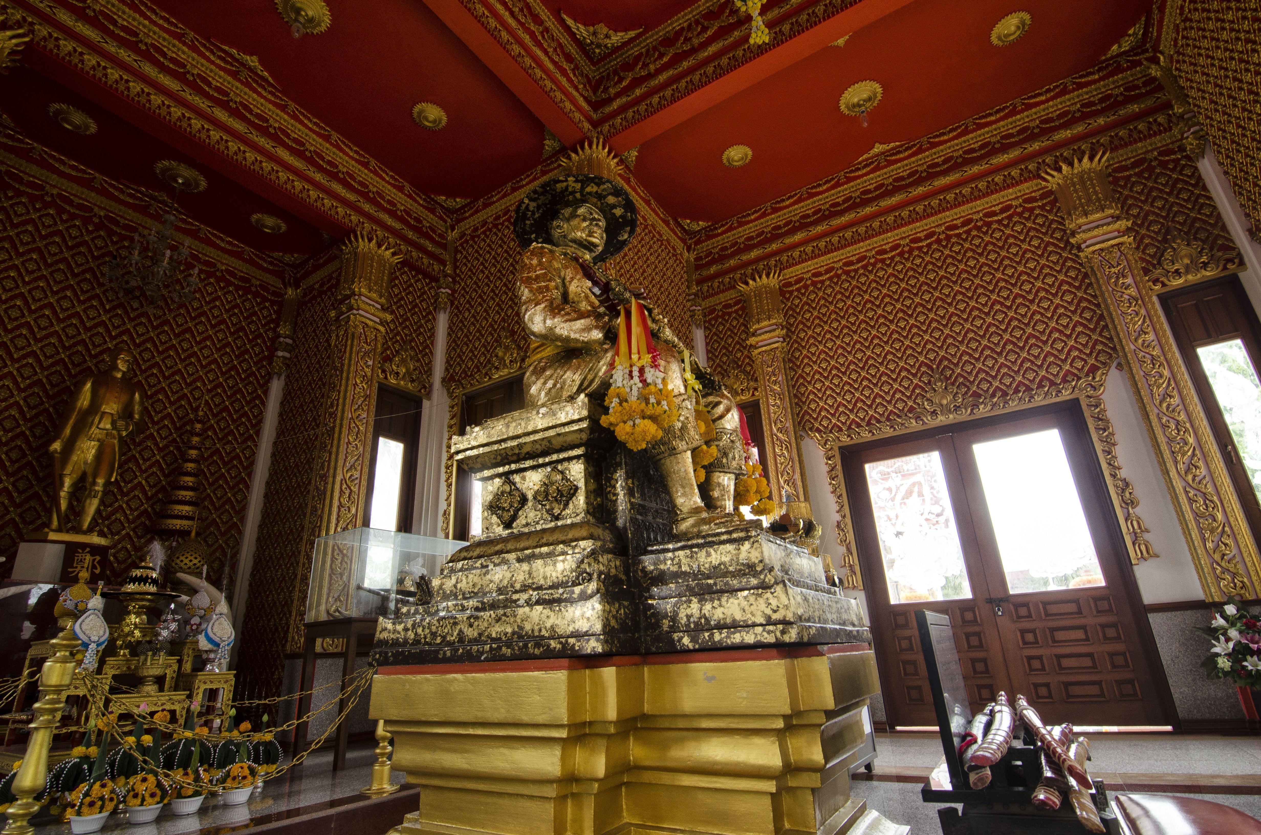 Shrine to King Taksin in Thailand