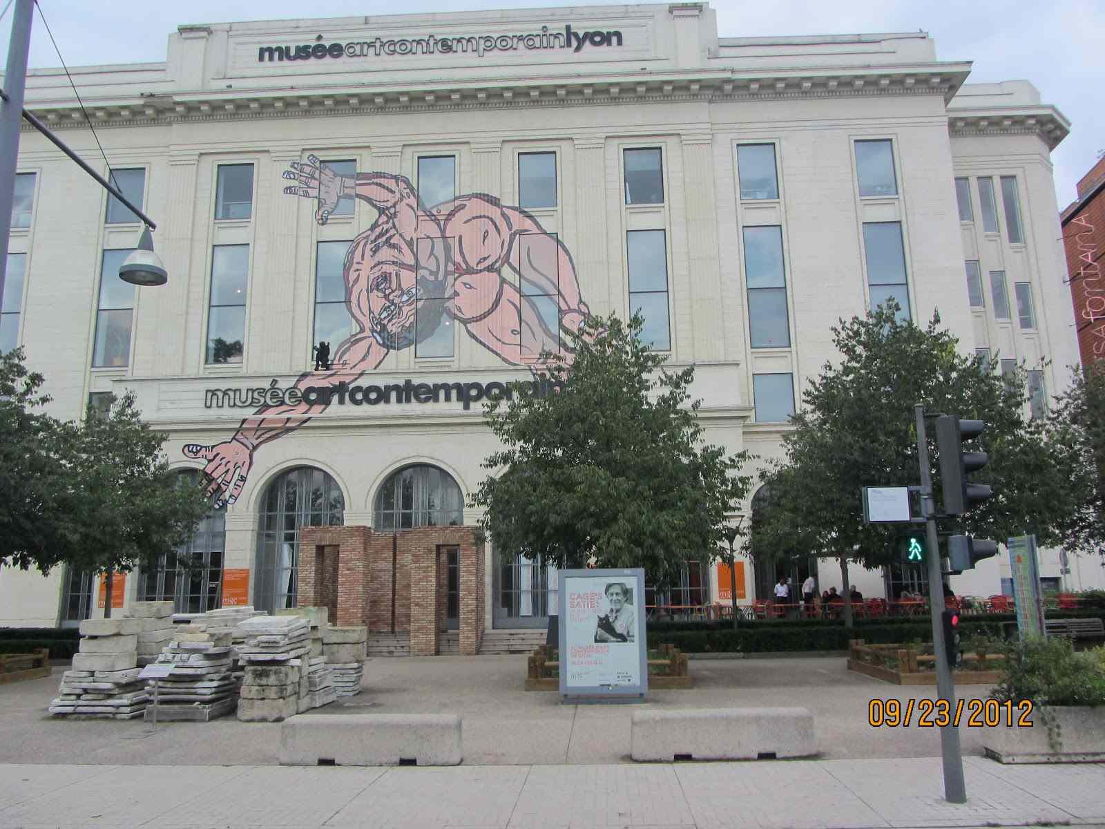 Contemporary Art Museum- MAC - Lyon