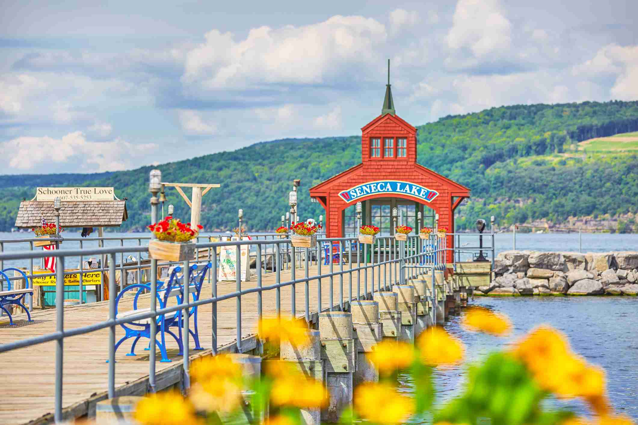 Seneca Lake Pier