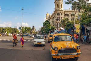 Kolkata Esplanade