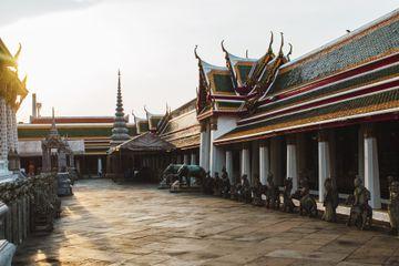 Wat Arun during sunset