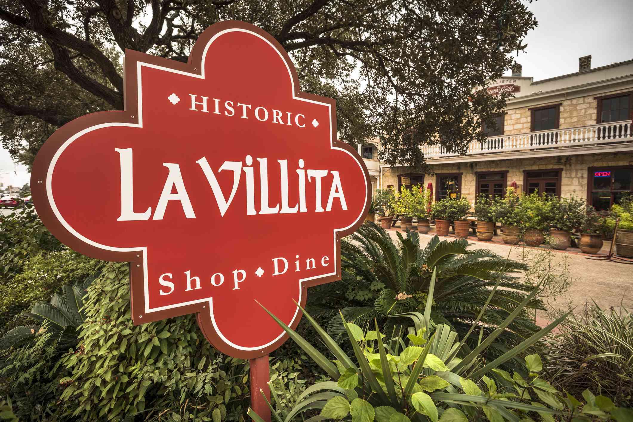 La Villita historic district in San Antonio