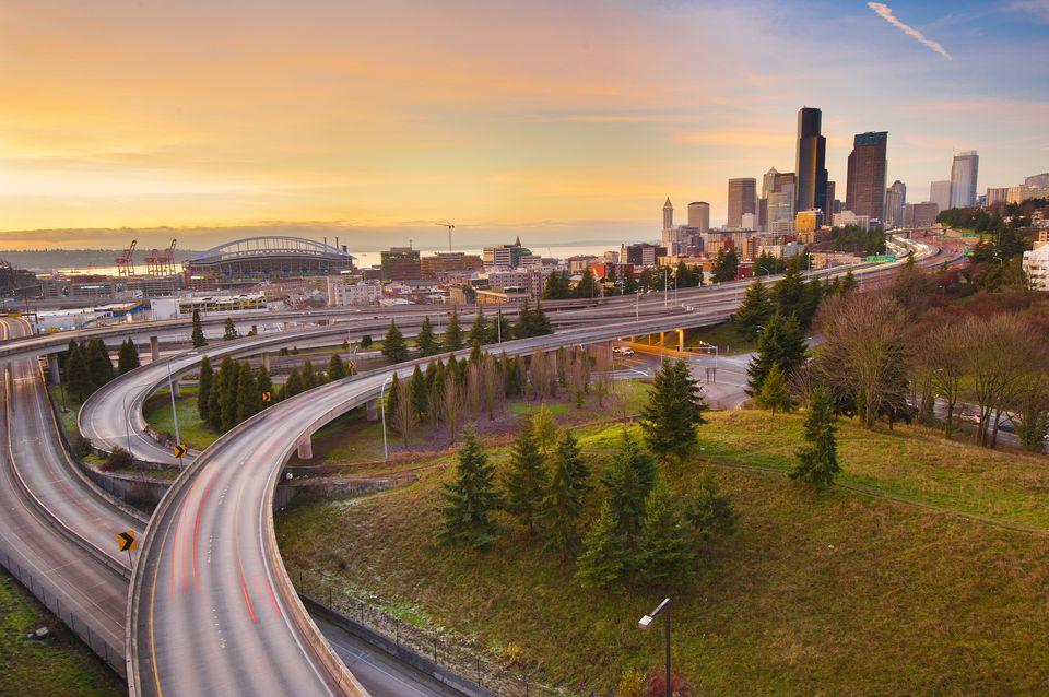 El centro de Seattle